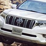 Toyota презентовала улучшенный внедорожник Land Cruiser Prado
